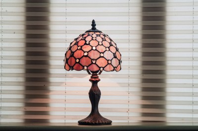 red-glass-lamp