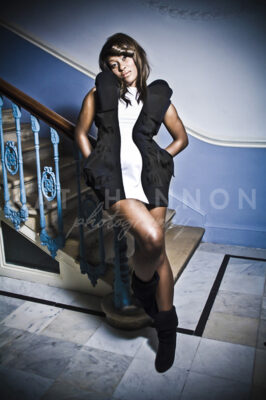 woman-in-glamourous-dress-staircase